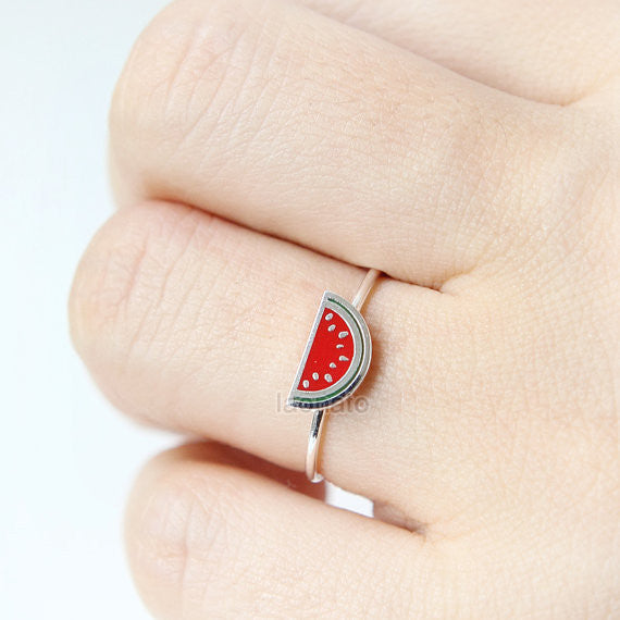 N002 Watermelon Ring