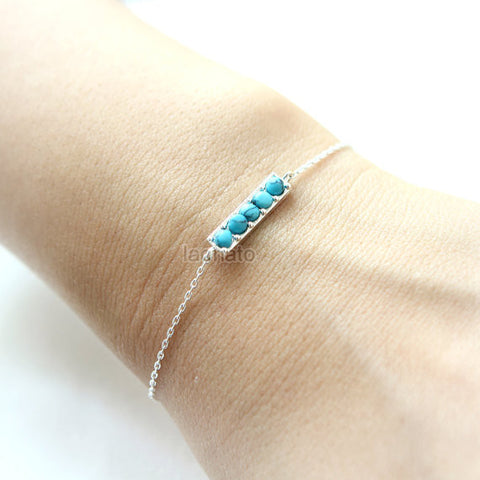 Chevron Bangle / V bracelet