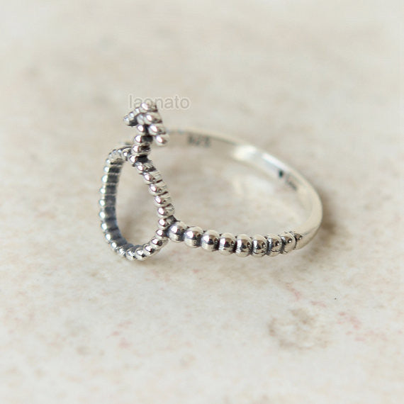 Gender Symbol Ring in sterling silver, Couples Ring