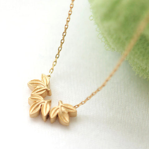 Tiny Ginkgo leaf Ring