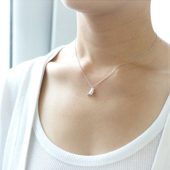 Little Sparrow Necklace in silver
