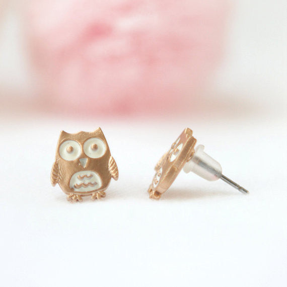 Baby Owl earrings