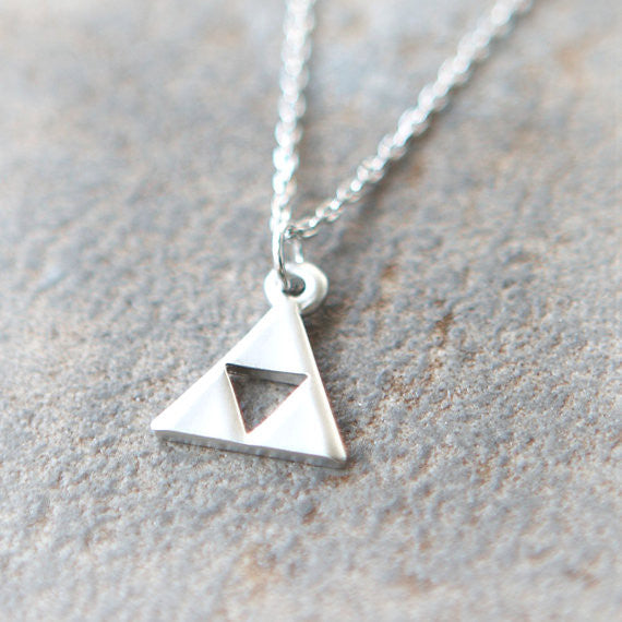 Tri Force Necklace in silver