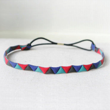 Geometric Triangles Headband
