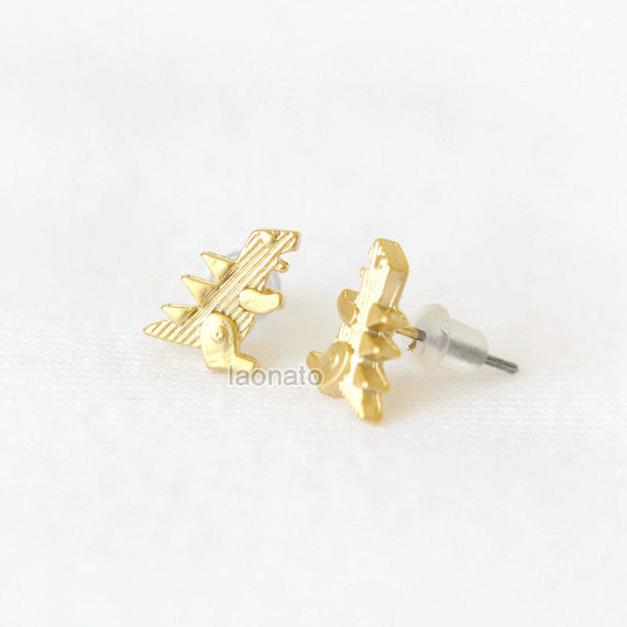 Dinosaur earrings T-Rex