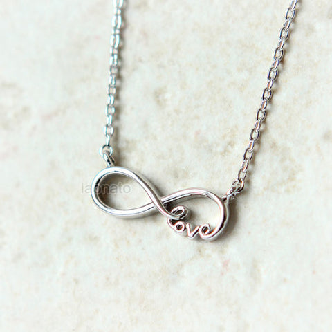Triple Hearts Necklace / hearts necklace