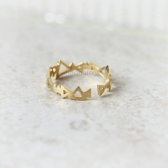 Triangles Ring