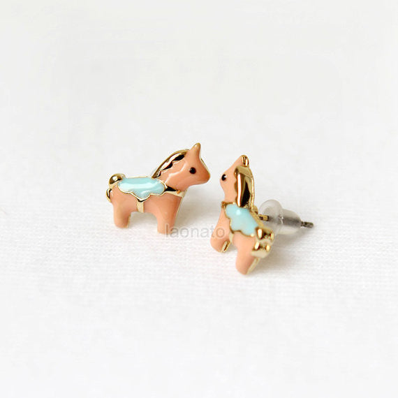 Cute Horse Earrings