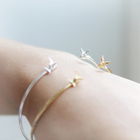 Tiny Sparrow Bangle