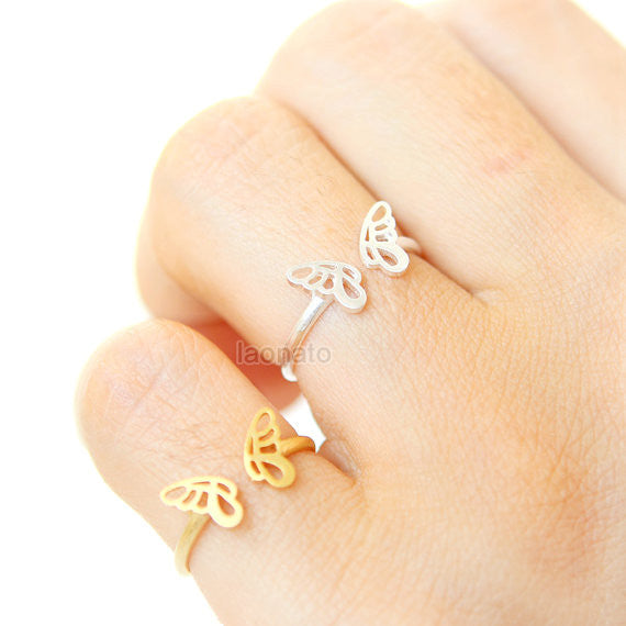 Butterfly Outline Ring