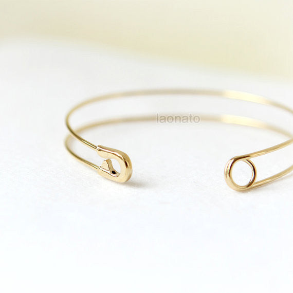 Safety Pin Bangle