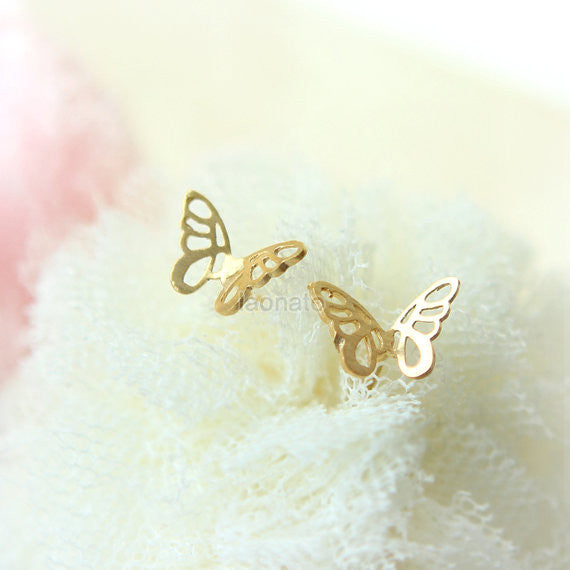 Butterfly Outline Earrings