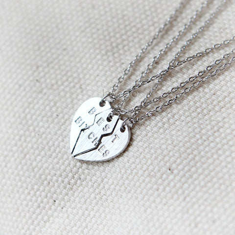 Adorable heart locket necklace