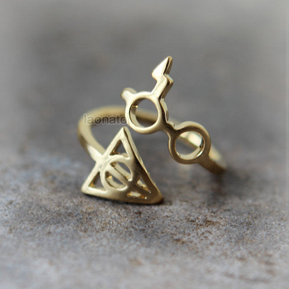 Harry Potter and Deathly Hollows Ring