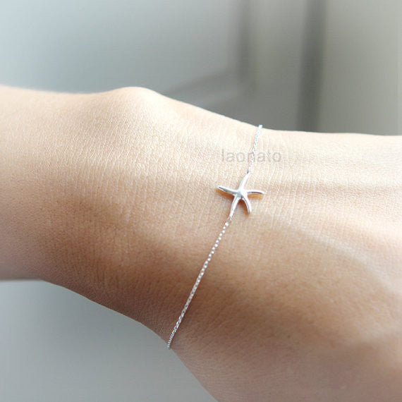 Starfish Bracelet in 925 sterling silver