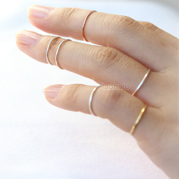 Slim Sterling silver Ring