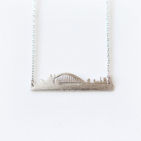 Cityscape Necklace- Sydney