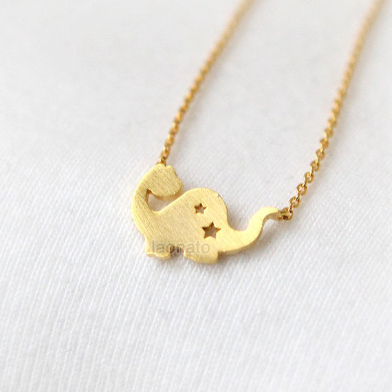 Cute Dino Necklace