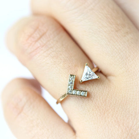 Spiral Arrow Ring