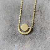 Geometric Necklace in Circles