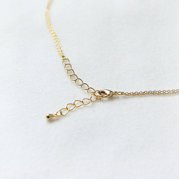 Big Dipper layered necklace