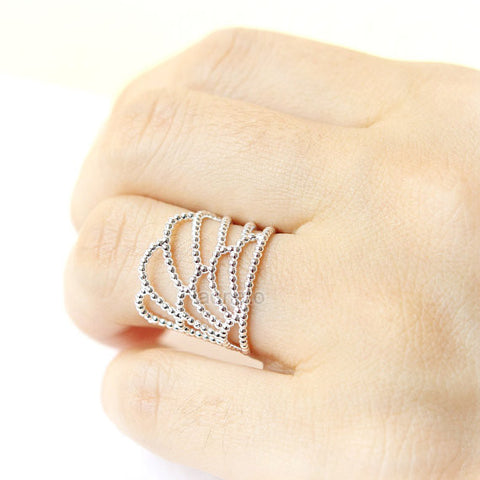 Big Dipper Ring in 925 sterling silver