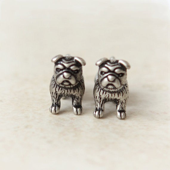 Doggy Fake guage Earrings