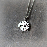 Brain Necklace in sterling silver