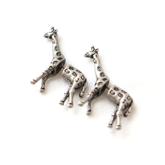 Giraffe Fake guage Earrings