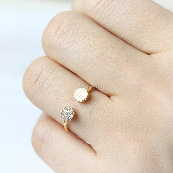 Two Circles Ring
