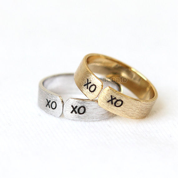 XOXO Band Ring
