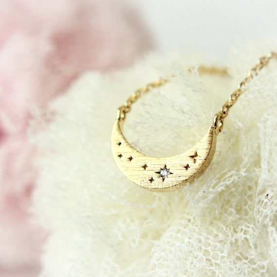 Shining Tiny Stars Necklace