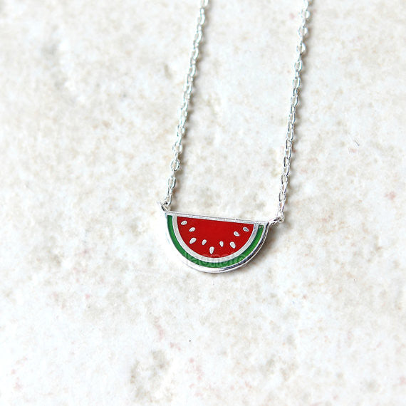 N002 Watermelon Necklace