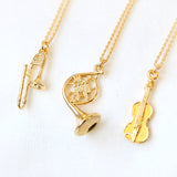 Musical Instrument Necklace