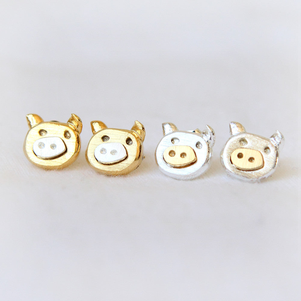 Piggy Earrings