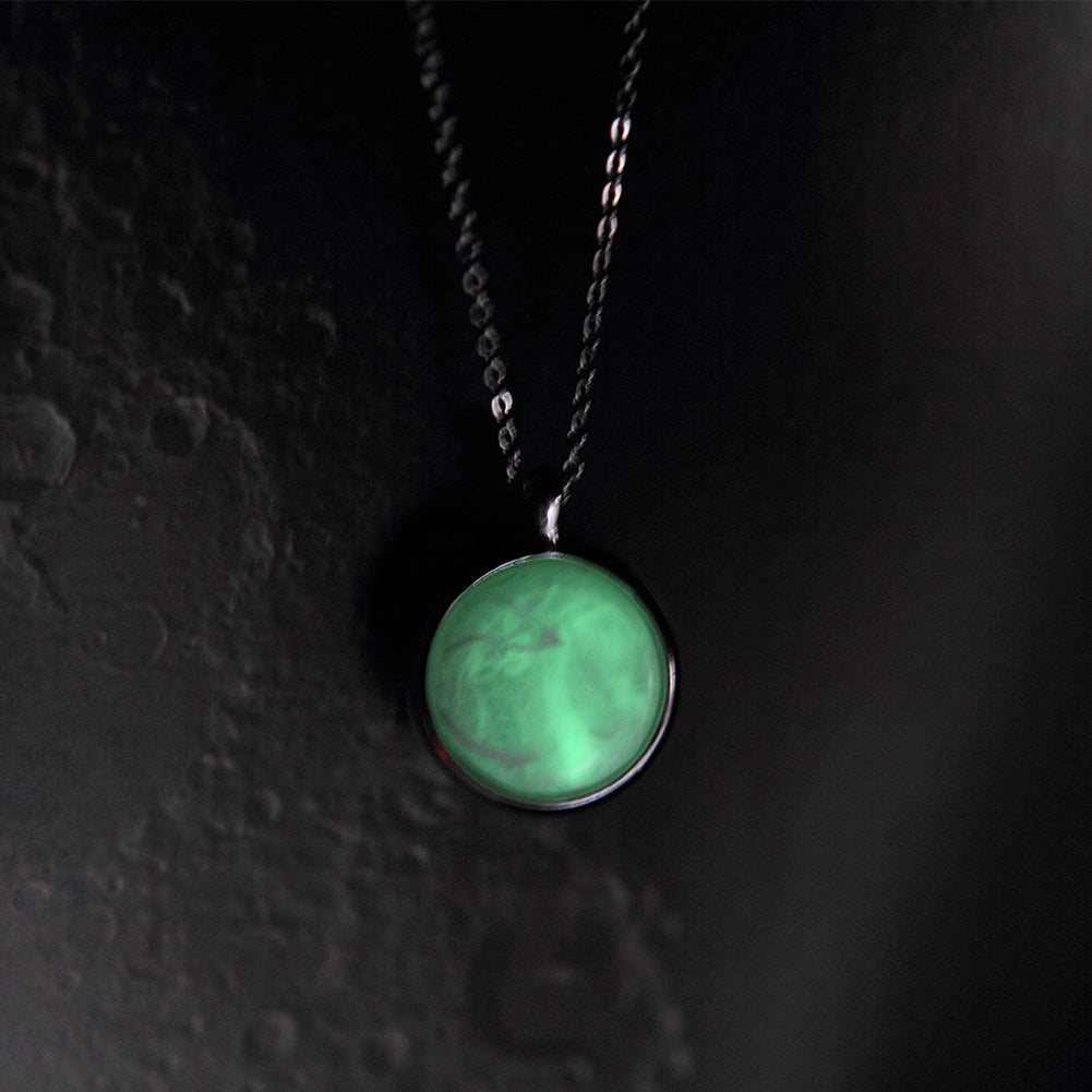 Luminous Moon Necklace