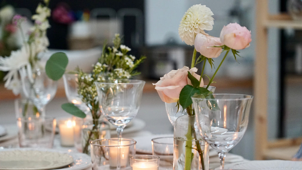 Entertaining with Food & Flowers