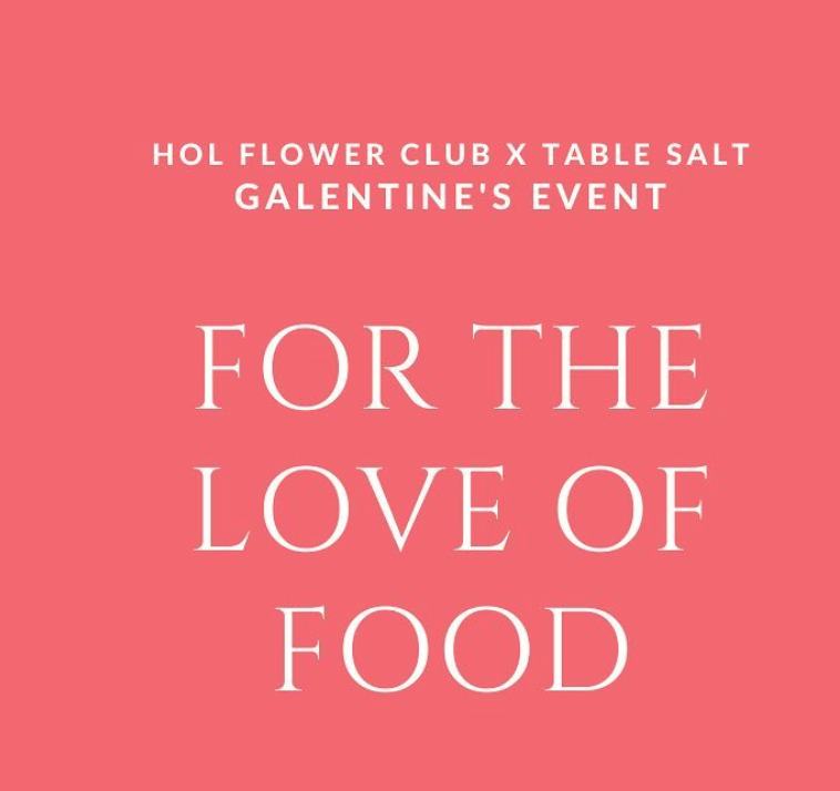 For The Love of Food: A Recap of Easy Hosting Tips