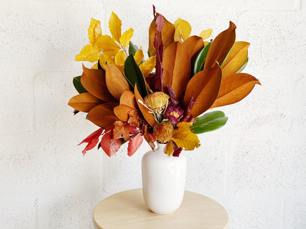 Fall Magic Dried Flower Arrangement