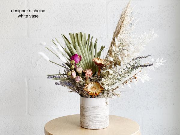 Medium Dried Flower Arrangement - Shipping