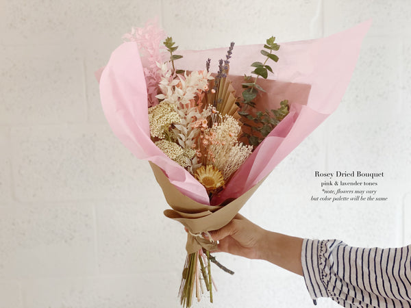 Dried Flower Bouquet - Shipping