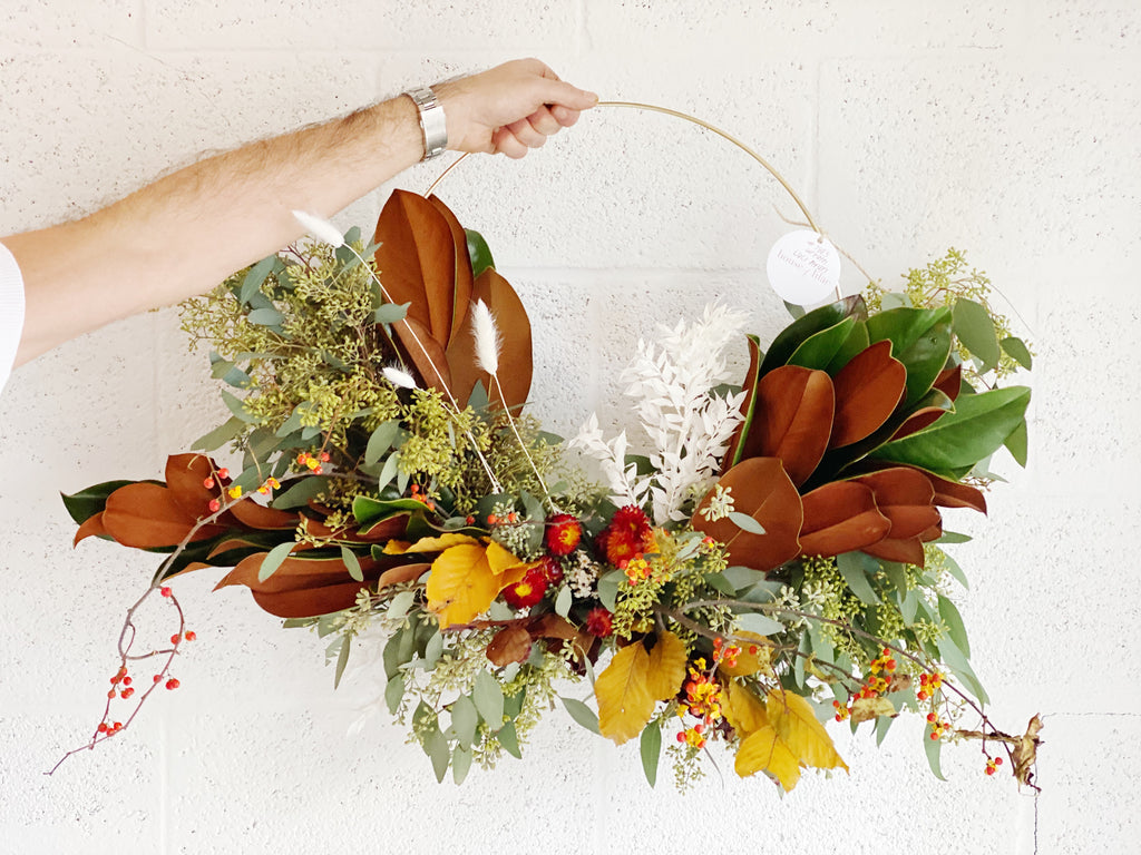 Seasonal Fall Wreath - Nationwide Shipping