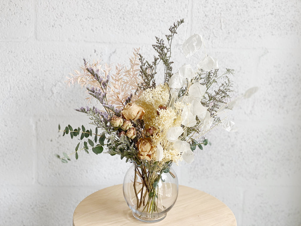 Small Dried Flower Arrangement - Shipping