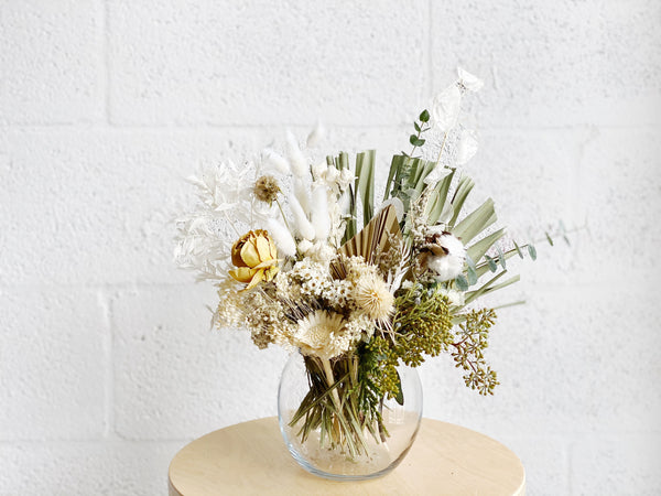 Winter Medium Dried Flower Arrangement