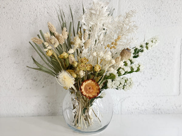 Serenity. (Dried Arrangements $35-$95)