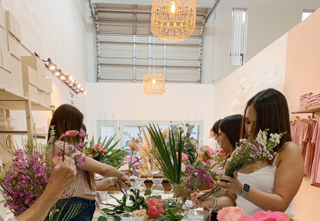 Everyday Flower Arranging Workshop. February 29, 2020.