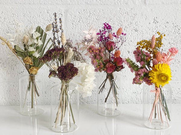 Mother's Day Dried Flower Bud Vase