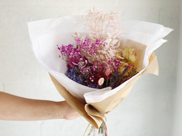 Mother's Day Dried Flower Bouquet