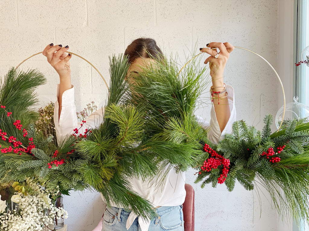 Fresh Winter Wreath