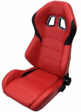 NRG Ferrari XM2 Style Leather Seats